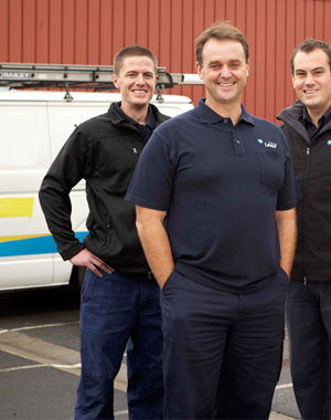 three of our plumbers in Edmonds, WA are standing ready to help you
